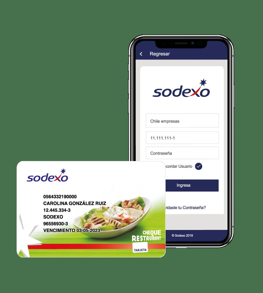Sodexo app, Bonos e incentivos Cheque Restaurant Sodexo Chile