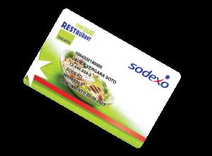 cheque restaurant tarjeta
